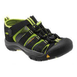 Dětské sandály Keen Newport H2 K Dětské velikosti bot: 25/26 (9) / Barva: black/lime green