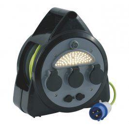 Přípojka Outwell CEE Mains 3way Roller Kit s USB a světlem