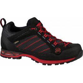 Pánské boty Hanwag Makra Low GTX Velikost bot (EU): 44,5 / Barva: černá/červená