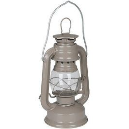 Lucerna Bo-Camp Hurricane Candle Lamp 19 cm Barva: hnědošedá