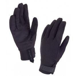 Dámské rukavice SealSkinz Womens Dragon Eye Velikost: XL (9) / Barva: černá