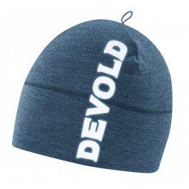 Čepice Devold Running Beanie Obvod hlavy: 58 cm / Barva: modrá