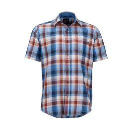 Pánská košile Marmot Notus SS Velikost: S / Barva: modrá