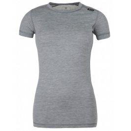 Dámské funkční triko Kilpi Merin W Velikost: XXXL (46) / Barva: šedá