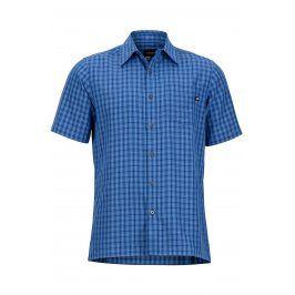 Pánská košile Marmot Eldridge SS Velikost: XXL / Barva: tmavě modrá