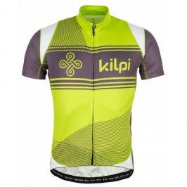 Vystavený pánský cyklistický dres Kilpi Velocity-m Velikost: M / Barva: LGN