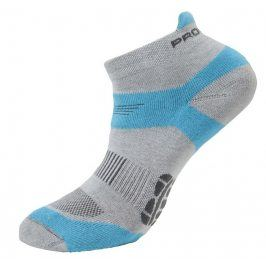 Ponožky Progress RNS 8JB Running Sox Velikost ponožek: 35-38 (3-5) / Barva: šedá/modrá