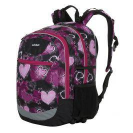 Školní batoh Loap Ellipse 25l Barva: černá