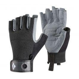 Sportovní rukavice Black Diamond Crag Half-finger Velikost: L / Barva: černá