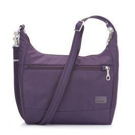 Bezpečnostní kabelka Pacsafe Citysafe CS100 Barva: fialová