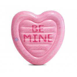 Nafukovací srdce Intex Candy Heart 58789EU Barva: růžová