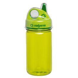 Dětská láhev Nalgene Grip n Gulp 350 ml Barva: zelená
