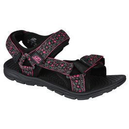 Dámské sandály Hannah Feet (cube) Velikost bot (EU): 39 (6) / Barva: šedá/růžova