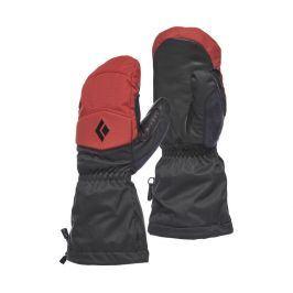 Rukavice Black Diamond Recon Mitts Velikost rukavic: M / Barva: červená