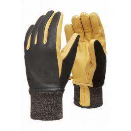 Rukavice Black Diamond Dirt bag gloves Velikost rukavic: S / Barva: černá