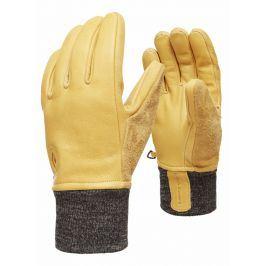 Rukavice Black Diamond Dirt bag gloves Velikost rukavic: M / Barva: hnědá