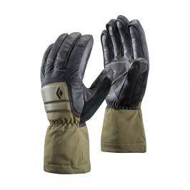 Rukavice Black Diamond Spark Powder Gloves Velikost rukavic: L / Barva: zelená