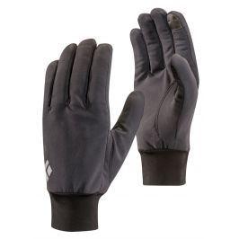 Rukavice Black Diamond Lightweight Softshell Velikost rukavic: M / Barva: šedá