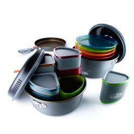 GSI Outdoors Vystavená Sada nádobí GSI Pinnacle Camper