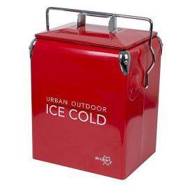 Vystavený chladící box Bo-camp UO Retro Coolbox Greenwich Red