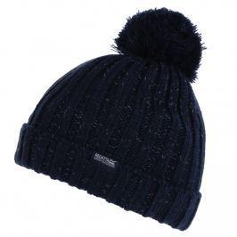 Dětská zimní čepice Regatta Luminosity Hat III Dětská velikost: 11-13 let / Barva: modrá