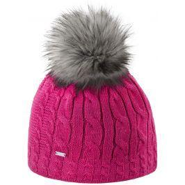 Pletená merino čepice Kama A121 Barva: růžová