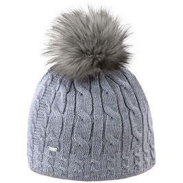 Pletená merino čepice Kama A121 Barva: šedá
