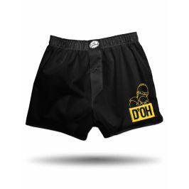 The Simpsons Homer DOH trenky pánské černé, Velikost trička S