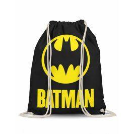 DC Comics Batman logo batůžek černý