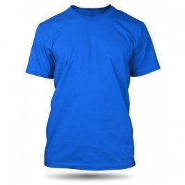 Pánské tričko Royal Blue bez potisku, Velikost trička M