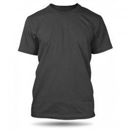 Pánské tričko Anthracite bez potisku, Velikost trička M