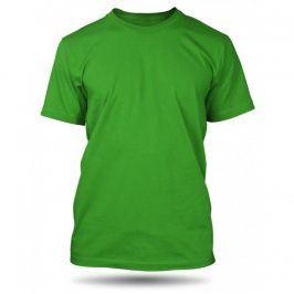 Pánské tričko Zelené bez potisku, Velikost trička M