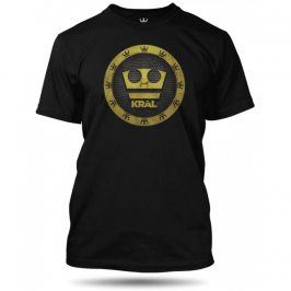 Jirka Král 3D koruna černé, Velikost trička Jirka Král 110-116