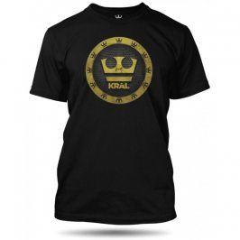 Jirka Král 3D koruna černé, Velikost trička Jirka Král M