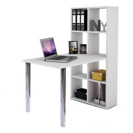 PC stůl s knihovnou Lexington