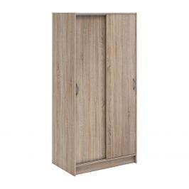Skříň s posuvnými dveřmi 282990 dub