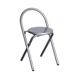 Skládací židle alu/šedá