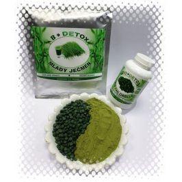 Bio-Detox Zvýhodněný balíček Mladý Ječmen 200g + Chlorella 750 tablet