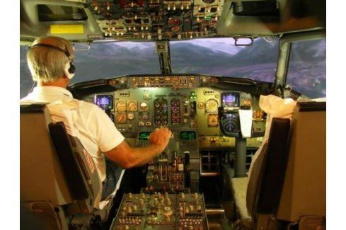Zážitek - Profesionální letový simulátor - Praha Letecké simulátory a trenažéry