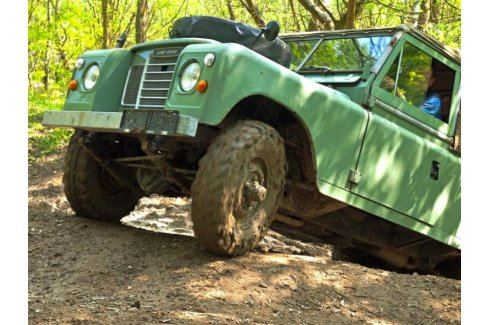 Zážitek - Land Rover off-road - testovací trénink - Středočeský kraj Offroad