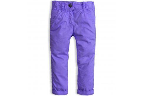 Dívčí kalhoty DIRKJE SNOWFLAKE s podšívkou fialové Velikost: 92