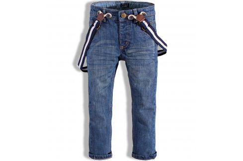 Chlapecké džíny s kšandami MINOTI FENWAY modré Velikost: 86-92