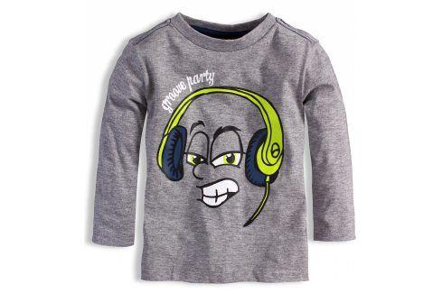 Chlapecké triko KNOT SO BAD PARTY šedé Velikost: 92