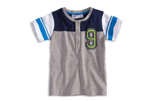 Dětské tričko Minoti GREEN šedé Velikost: 80 Kojenecká trička a košilky