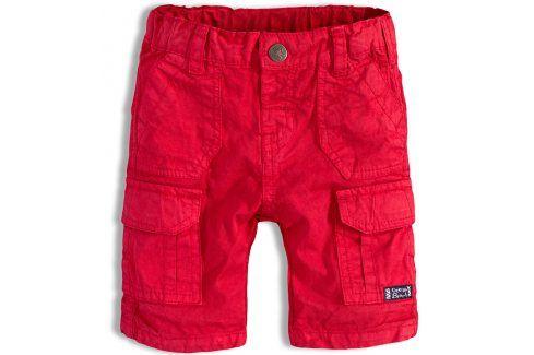 Chlapecké šortky PEBBLESTONE OCEAN BEACH červené Velikost: 68