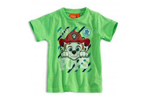 Dětské tričko PAW PATROL MARSHALL zelené Velikost: 86