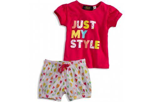 Dívčí pyžamo KNOT SO BAD MY STYLE růžové Velikost: 92