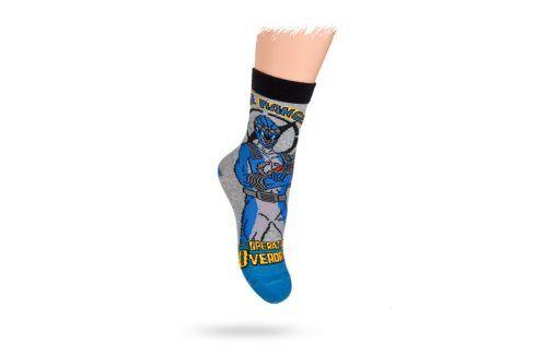 KREBO DISNEY vzorované ponožky POWER RANGERS Velikost: 21-23 Dětské oblečení