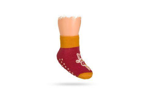 WOLA Ponožky ŽIRAFA Velikost: 15-17 Dětské oblečení