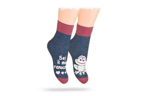 WOLA Ponožky ŽÁBA Velikost: 21-23 Dětské oblečení